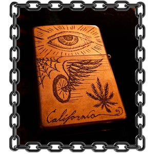 Image of ZipPotash Trench Art Lighter #1