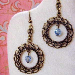 Image of FREE with your 30.00 or more purchase! French Toast Swarovski Earrings