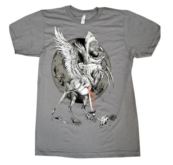 Image of Sharkasus | Alex Pardee | T Shirt