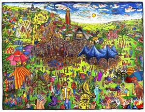 Image of Glastonbury  Festival - A1