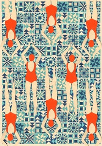 Image of Swimmers Print