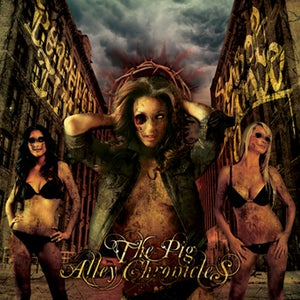 Image of SR11: BORROWED TIME/SONS OF DISGRACE 'The Pig Alley Chronicles' Split CD