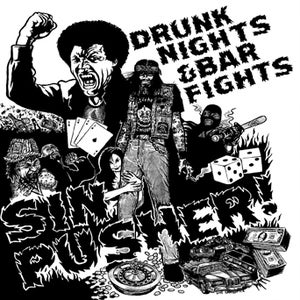 Image of SR13: SINPUSHER 'Drunk Nights & Bar Fights' MCD