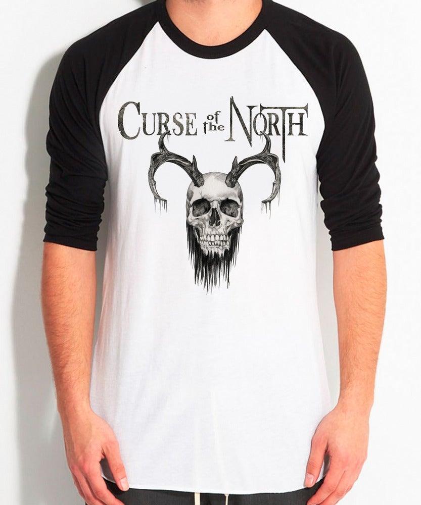 Image of Bearded Skull BaseBall Shirt