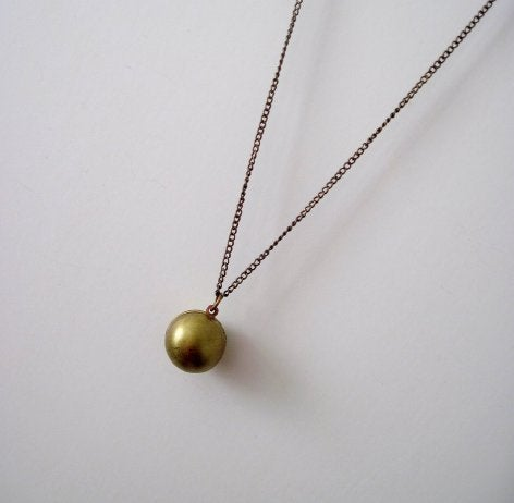 Image of Ball Globe Necklace