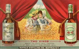 Image of Buffalo Distilling - Couple in Field