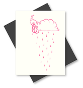 """Image of """"Sad Cloud"""" Cards (5 pack) by Travis Lampe"""