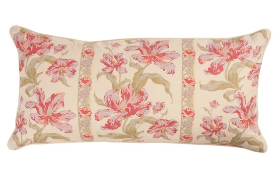 Image of Tulip Lavender Double Sided Bolster