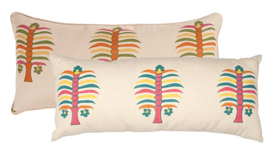Image of Fez Palm Double Sided Bolster