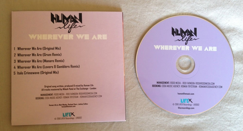 Image of Wherever We Are Promotional CD
