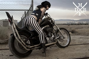 Image of Miss Holly Cakes: Cigs & Stripes (C) (20x30 POSTER PRINT)