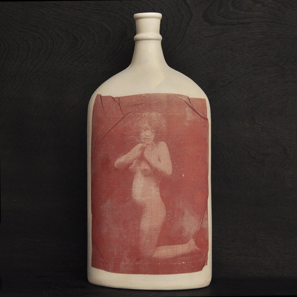 Image of vintage erotica bottle