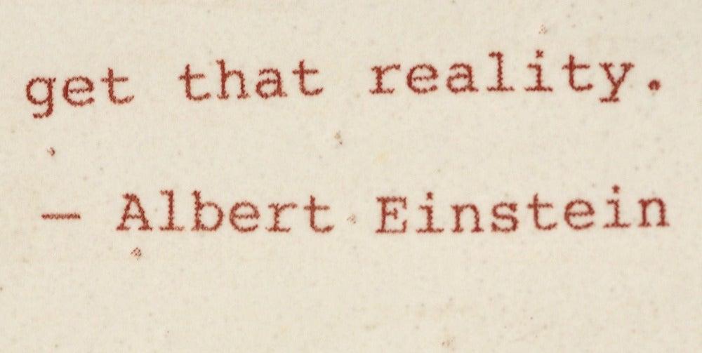 Image of Thanks Einstein