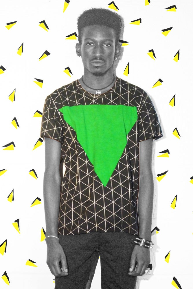 Image of Triangle Grid Tee