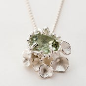 Image of Encrusted Blossom Pendant.