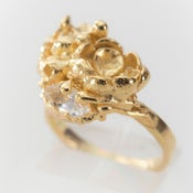 Image of Floral Seaweed Ring.