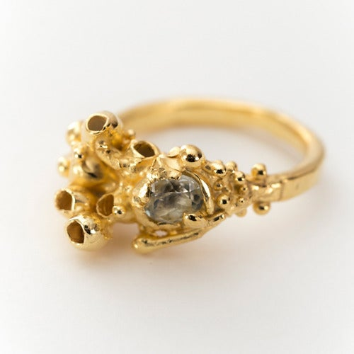 Image of Raised Seaweed Ring.