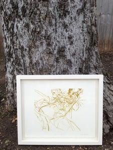Image of Framed Lithograph: Shoal Creek I
