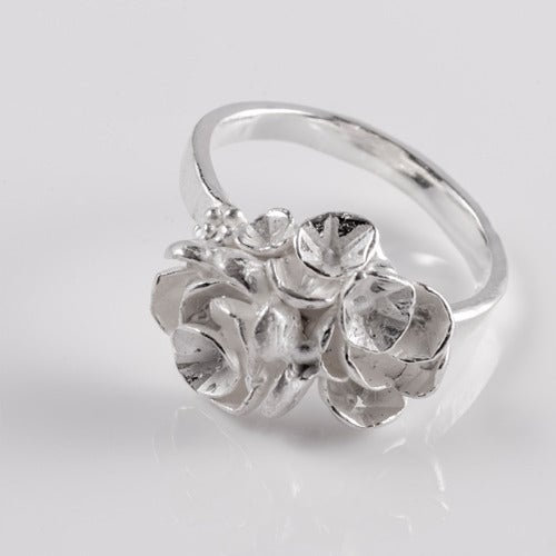 Image of Flat Rose Ring.