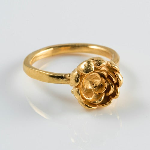 Image of Rose Cup Ring.