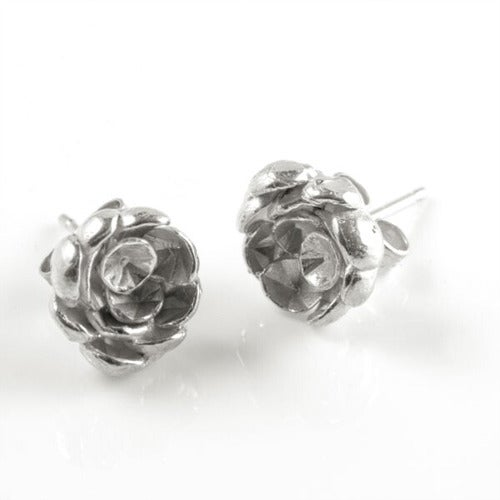 Image of Rose Cup Studs