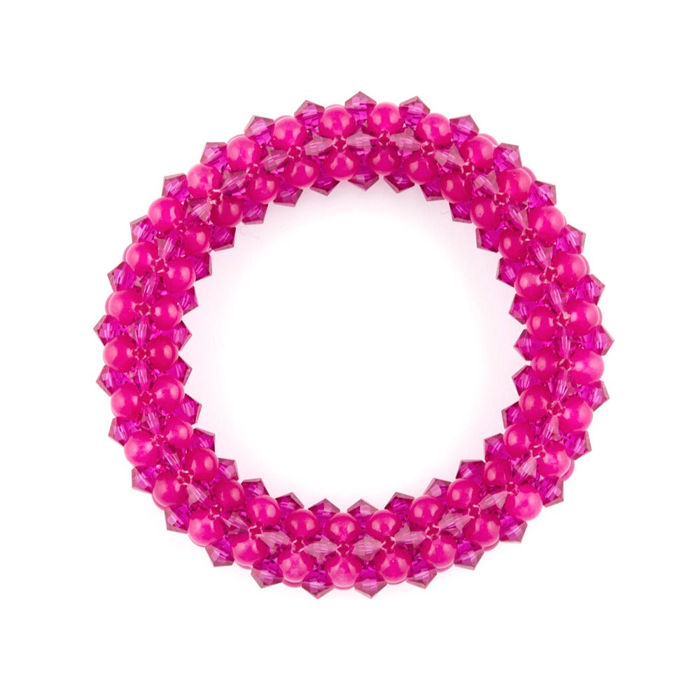Image of Hot Pink Rope Bracelet