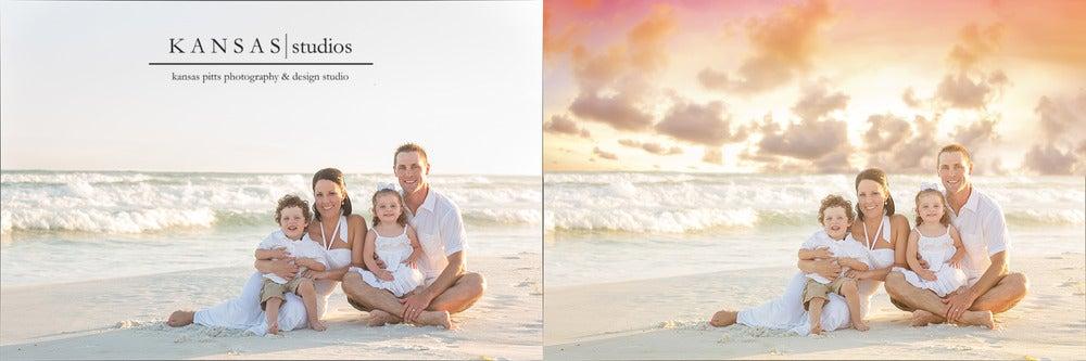 Image of Sunset Dusk Sky Overlays + Bonus Actions
