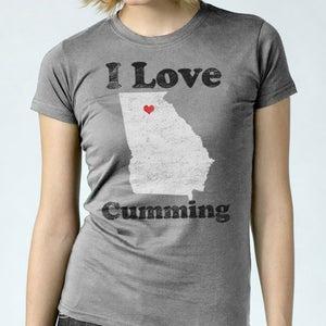 Image of I Love Cumming - Women's Tee