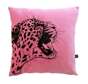 Image of LornaLove cushion : Leopard