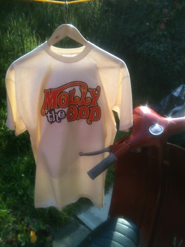 Image of Cream/ Male Molly The Odd T-shirt