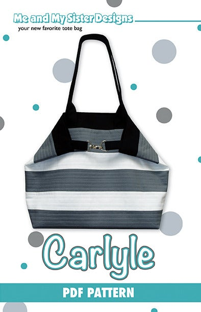 Image of Carlyle Tote PDF pattern
