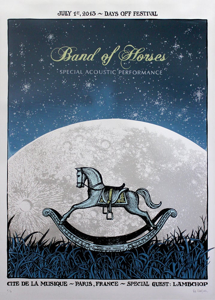 Image of Band Of Horses - Paris