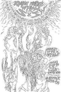Image of Savage Pencil - Aquarius Records/WFMU 2010 SXSW Showcase Poster