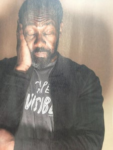 Image of My Cape is Invisible T-Shirt..yes its Lenny Henry