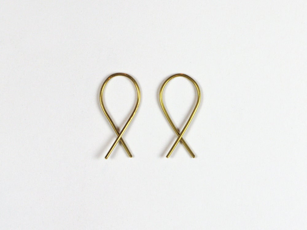 Image of X earrings