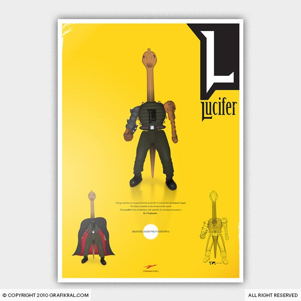 Image of Lucifer Poster
