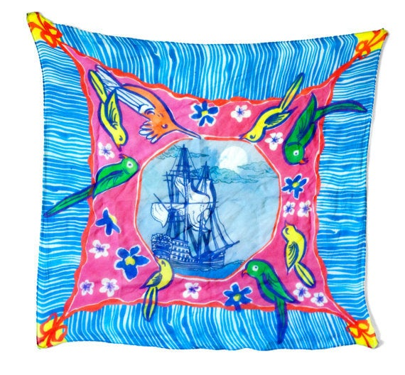 Image of Ghost Ship Adrift in the Tropics Scarf