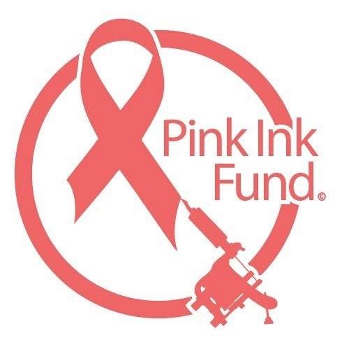 Image of Pink Ink Fund logo sticker!