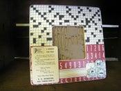 Image of Retro Inspired Frame 'Crossword'