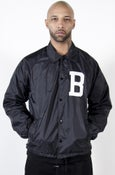 Image of Varsity Raid Jacket in Black
