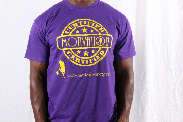 Image of Motivation Approved RoyalTee