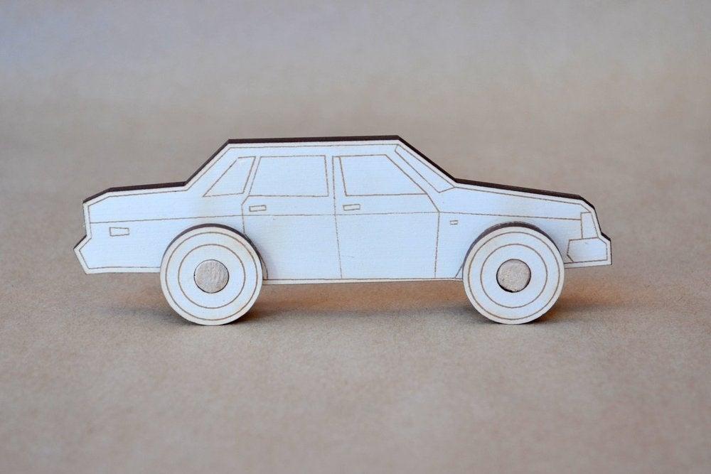 Image of  DIY Retro Car Kit 1