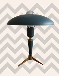 Image of 1950s Desk Lamp by Louis Kalff