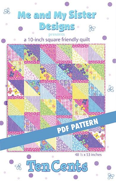 Image of Ten Cents PDF pattern