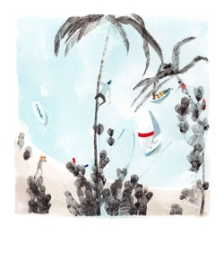 Image of Desert Island - print