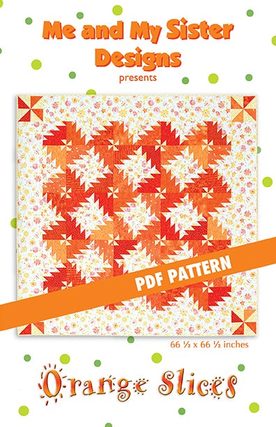 Image of Orange Slices PDF pattern