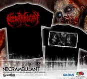 Image of NECRAMBULANT - Infernal Infectious...TS red logo