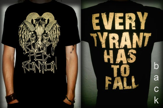 """Image of Shirt - """"Goat"""" - black"""