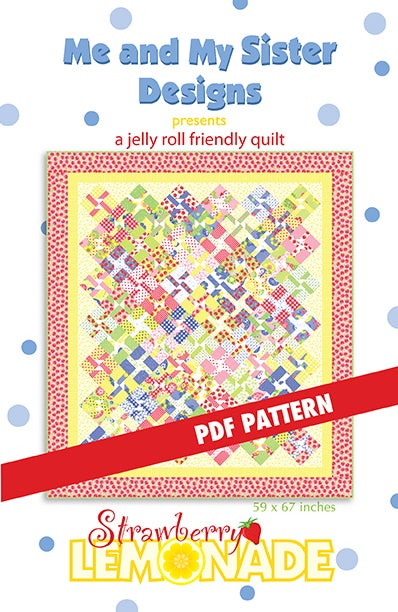 Image of Strawberry Lemonade PDF pattern