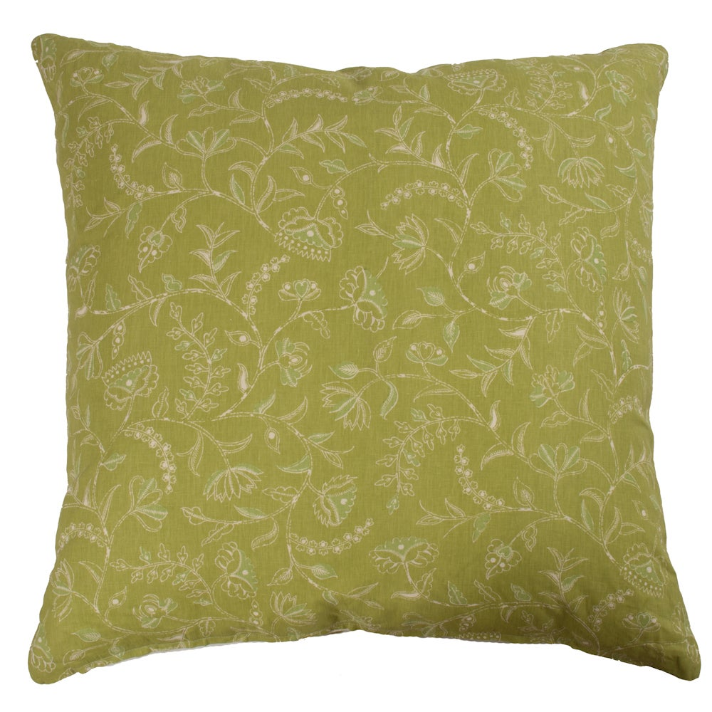 "Image of Greta Green Double Sided 32"" Pillow"